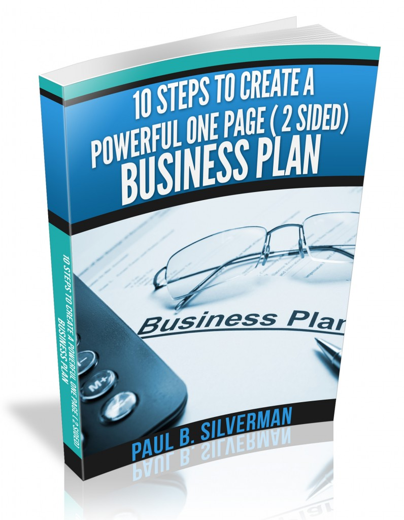 10 steps to create a powerful one page 2 sided business plan